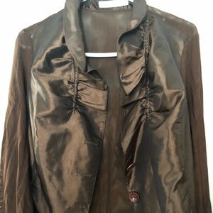 Puli bronze coloured blouse